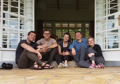 Teammitglieder der Eckart Schwerin-Stiftung/ Reise 2018