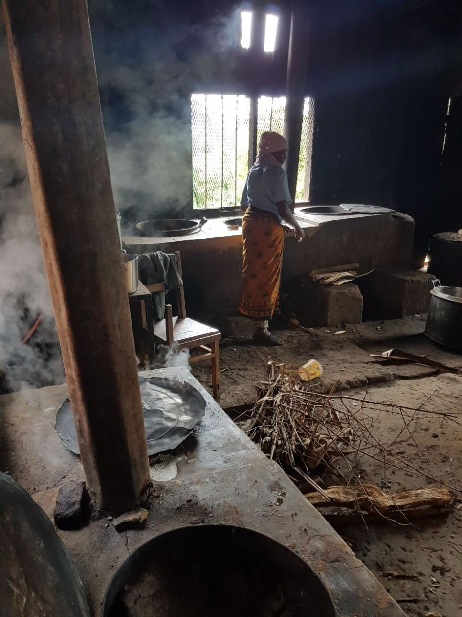 Küche Shighatini Secondary School