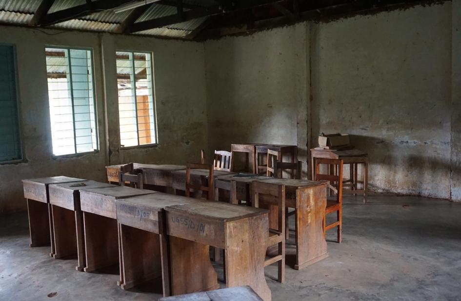 Usangi Girls Secondary School Renovierungsarbeiten