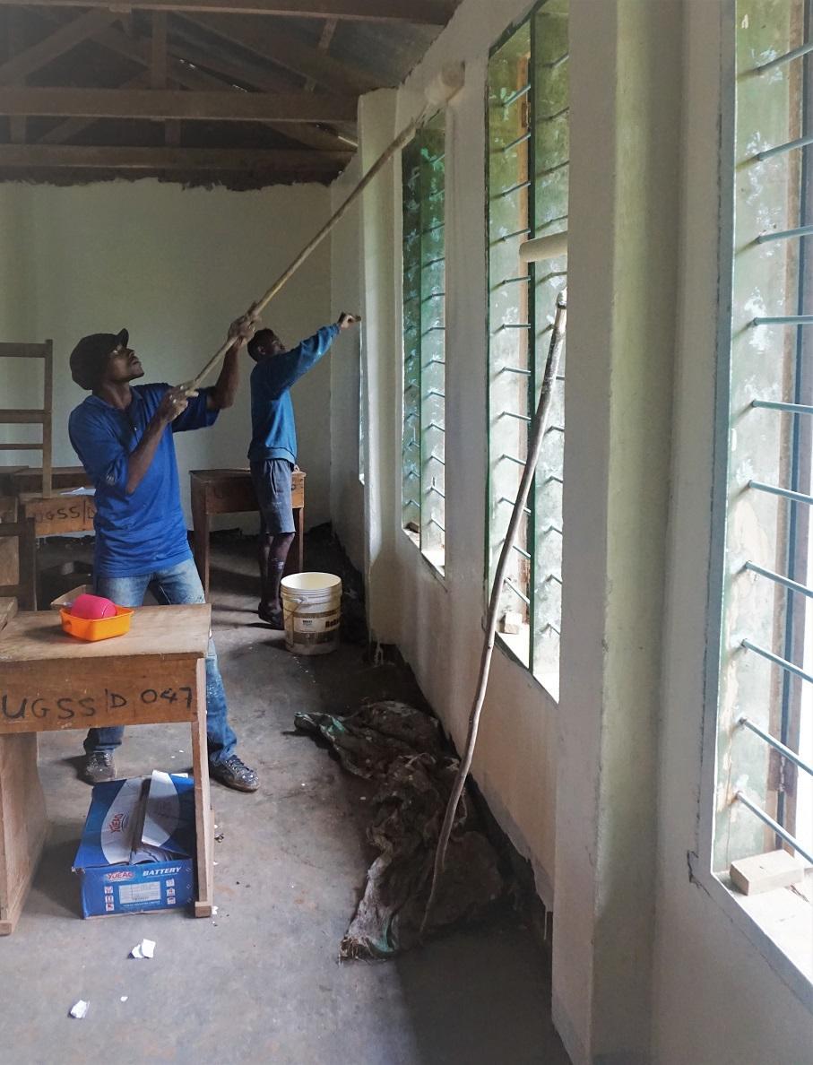 Usangi Girls Secondary School Renovierung abgeschlossen